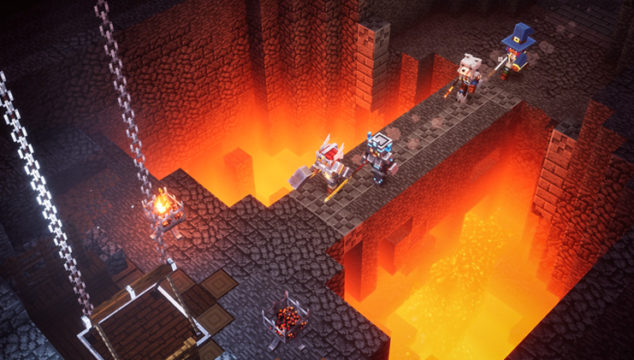 Minecraft Dungeonsの発売日はプラットフォームで同じ?