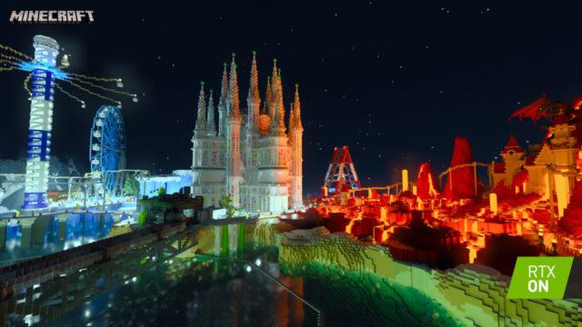 Minecraft 統合版にリアルタイム・レイトレーシング機能が追加