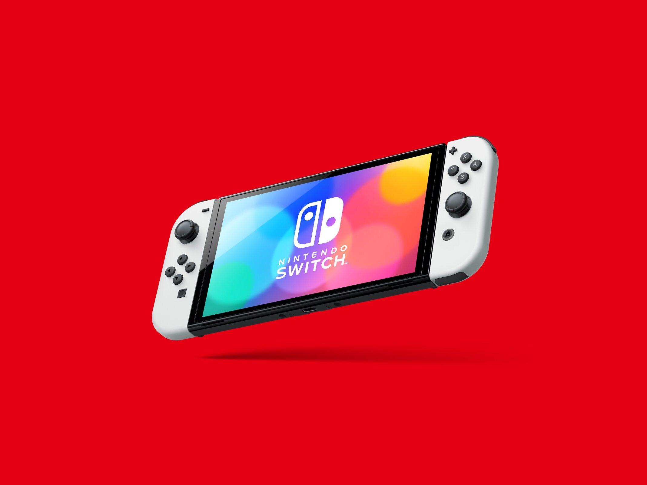Nintendo Switchに有機ELモデルが登場
